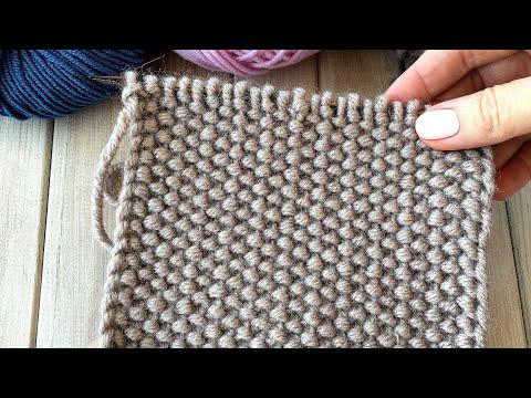 Плотные узоры вязания спицами