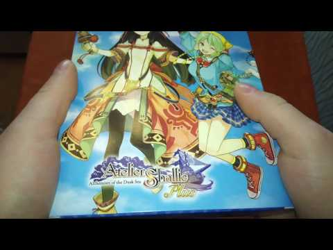 Unboxing Atelier Shallie Alchemist of the Dusk Sea limited Edition +Plus [ deutsch - german ]