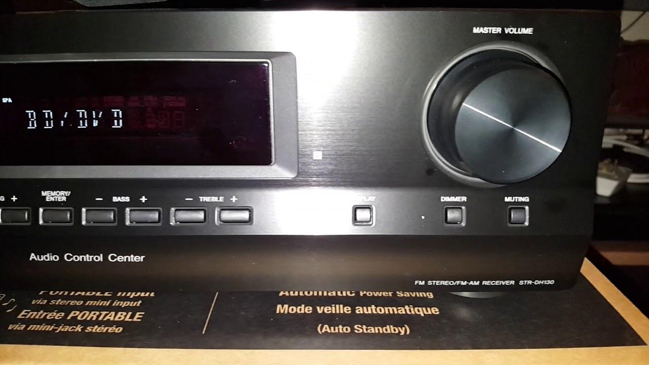Sony Strdh130 Manual Philips Tv Chassis Gr24 Aa Service Elzplorers De Array Str Dh130 Fm Am Receiver Youtube Rh Com
