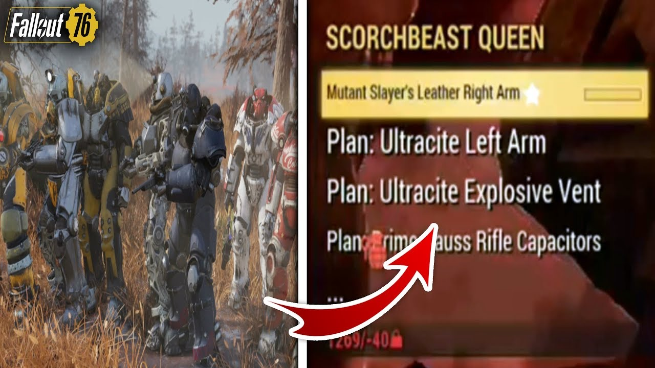 Fallout 76 - KILLING SCORCHBEAST QUEEN WITH HALF OF THE