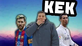 КЕК Юнайтед: Журавлёв троллит Месси и Роналду!