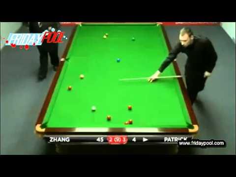 2012 Snooker Australian Goldfields Open qualifiers R1 - 張安達Zhang Anda vs Patrick Fr. 5-8