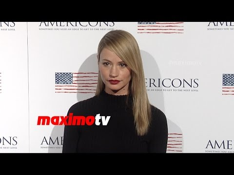 Cameron Richardson  AMERICONS Los Angeles Premiere  Red Carpet