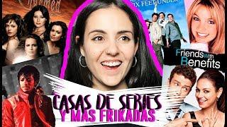 VISITANDO CASAS DE SERIES + FRIKADAS EN L.A | Andrea Compton ft. Gonzalo Caps