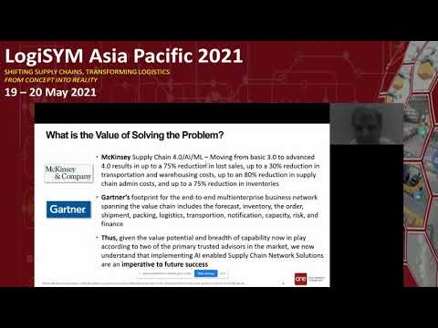 LogiSYM APAC 2021   Disruption in Supply Networks:  How to Optimize for Variability and Uncertainty