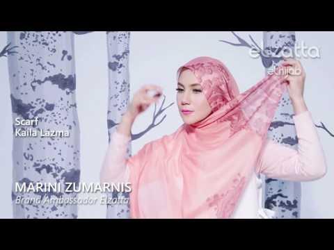 [Hijab Tutorial] Elegant scarf