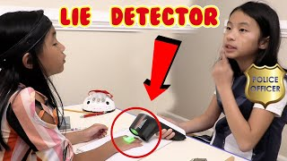 Pretend Play Police Uses Fake Detector Test to Find Out The Truth