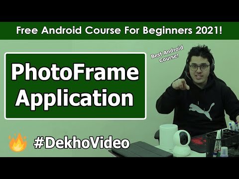 Creating Photo Frame Application In Android: Exercise 1 | Android Tutorials in Hindi #6 thumbnail