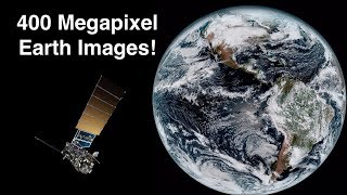 How Satellites Capture 400 Megapixel Images Of Earth