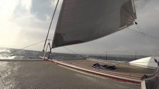 Le Breton Yachts SIG45  Delivery Port Grimaud to La Grande Motte April 2013