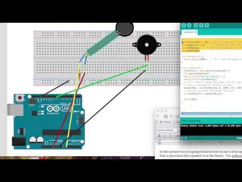 arduino speaker tutorial - youtube  youtube