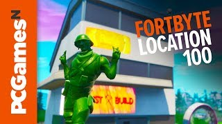Fortnite Fortbyte guide - Number #100
