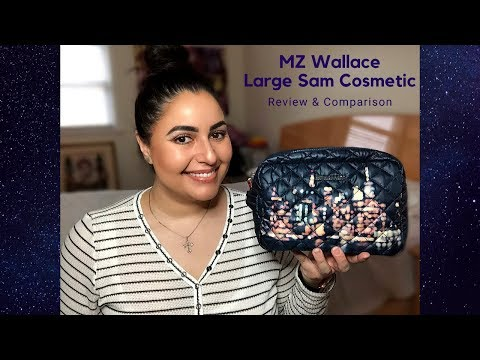 MZ Wallace Large Sam Cosmetic - Review and Comparison
