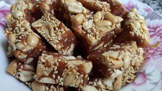 Cách làm KẸO CHUỐI DẺO ĐẬU PHỘNG kẹo dẻo mềm không bị cứng - Món Ăn Ngon Mỗi Ngày