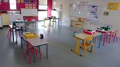 Reprise d'activité à l'école publique de Rieux