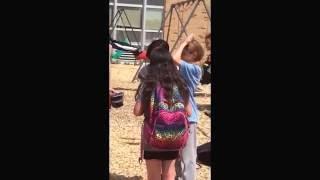 Last day of school filmed by my friends