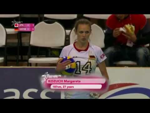 2014 Montreux Volley Masters: Japan - Germany