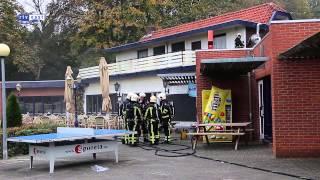 Brand in cafetaria van camping De Twentse Es in Enschede