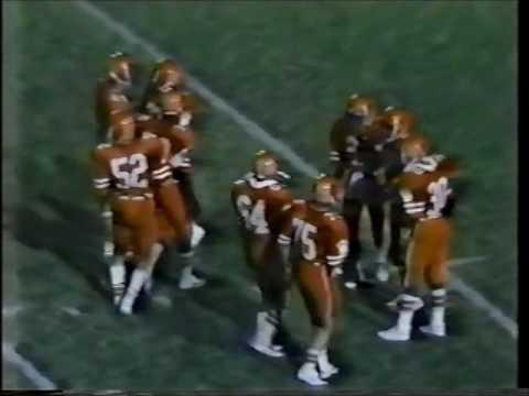 1983 San Angelo Central Bobcats Vs Odessa Permian Pathers