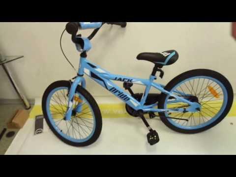 Сборка детского велосипеда с коробки