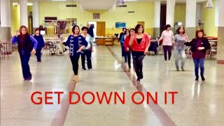 Get Down On It Line Dance