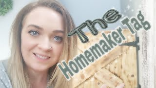 Whats it like being a SAHM? // Homemaker TAG