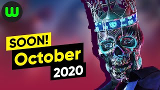 Top 10 Upcoming Games for October 2020