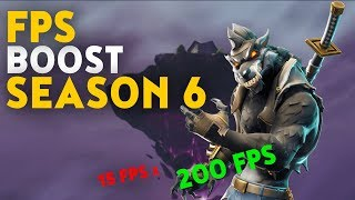 Fortnite Boost FPS : Best Performance Season 6 Guide ✔️ ZIGZAGBOI ✔️