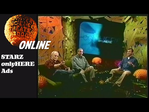 STARZ on Demand Ads with Mike Nelson, Kevin Murphy, and Bill Corbett