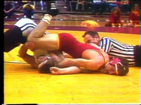 Kelly Ward Ahead 30-5, Then Pins Jeff Allegar, ISU Vs Lehigh 1978