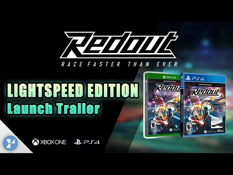 Redout: Lightspeed Edition - PS4/Xbox One Launch Trailer