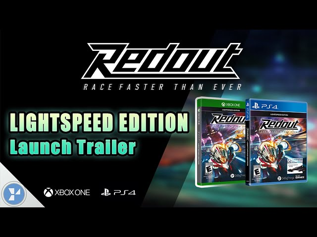 Redout: Lightspeed Edition | PS4/Xbox One Launch Trailer