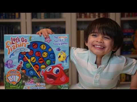 How To Play: Let's Go Fishin' Game   Kids Game   Pressman Toy Let's Go Fishin   Numbers And Counting