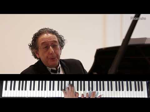 Masterclass de Jean Marc Luisada - Gnossienne n°3 Erik Satie