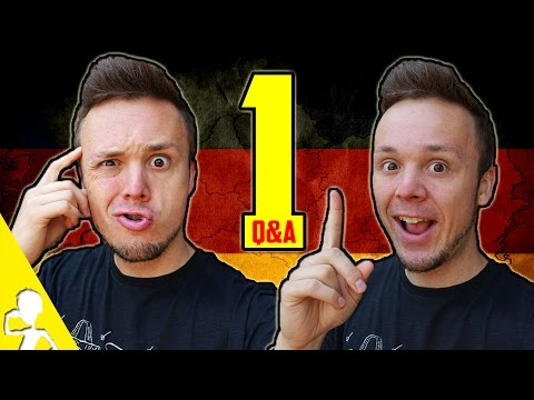 What Countries Germans Hate, How I Learned English And More   Q&A #1   Get Germanized