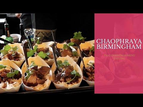 Chaophraya Thai Birmingham Christmas Menu Launch