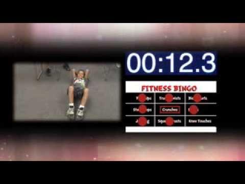 Fitness Bingo - Kids In Motion - WSKG