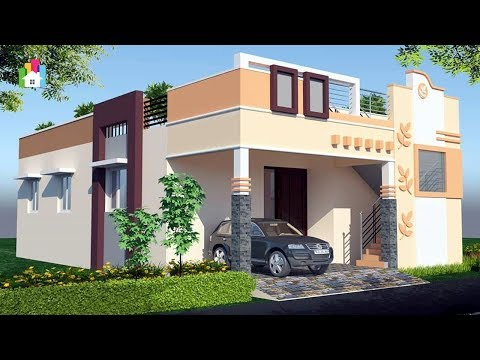 Front Elevation Design Single Floor Latest Top Single