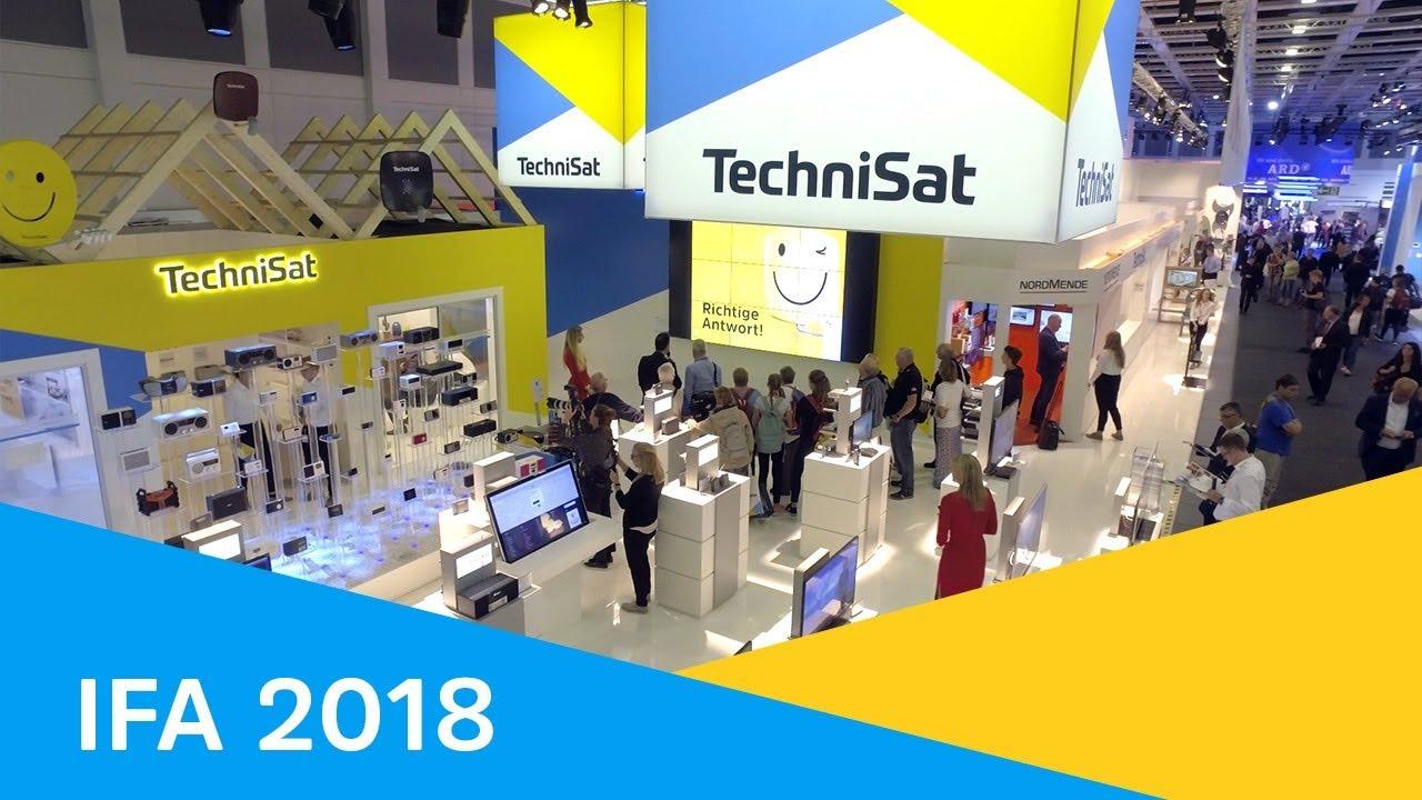 Video: IFA 2018 | TechniSat präsentiert sich als Anbieter vernetzter Lösungen