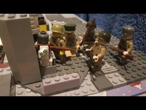 Лего ВОВ битва под Москвой Lego Ww2 Battle Of Moscow  Call Of Duty 2