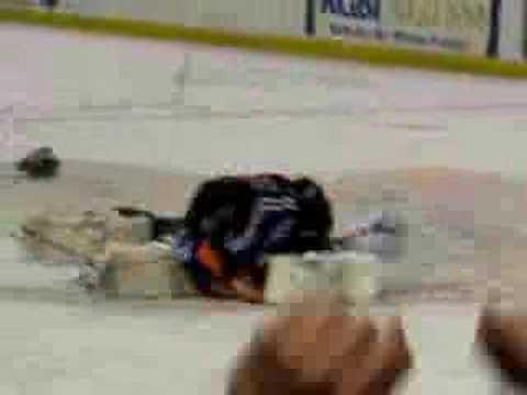 Stars vs. Lancers 2007 Brawl/Goalie Fight