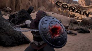 Conan Exiles - ТОПОВАЯ ПЕЩЕРА добычи серы, классика x1
