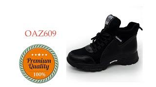 Женские кроссовки OAZ609 черные