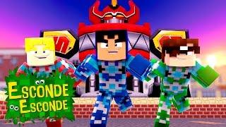 Minecraft: POWER RANGERS! (Esconde-Esconde)