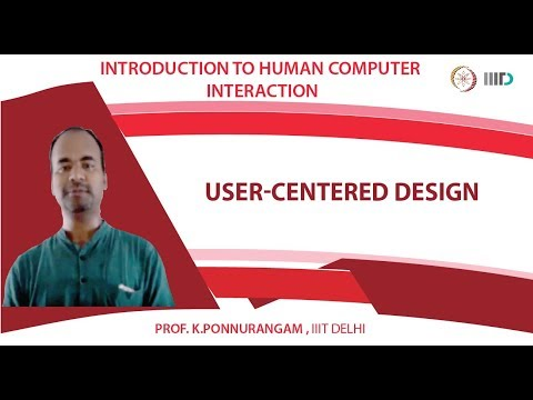 Lecture 14 - User-Centered Design