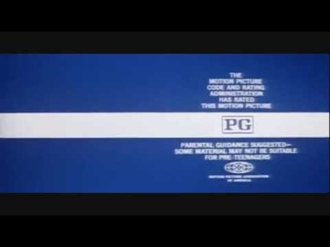 paramount closing logo and mpaa rated pg bumper from 1973
