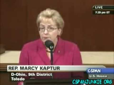 Rep. Marcy Kaptur on bail out bill