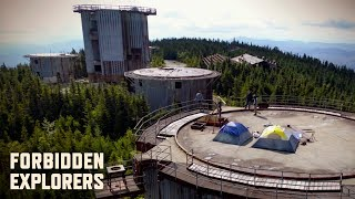 Camping on Top oḟ an Abandoned Cold War Radar Base!