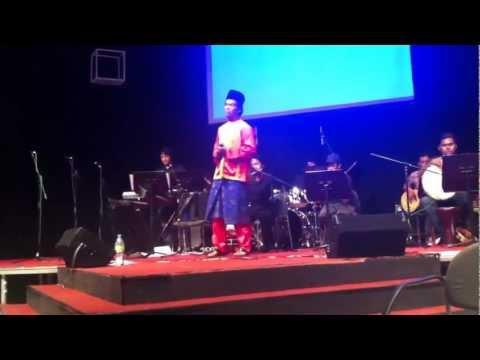 Aswara Music - Pelajar Ijazah, Fitri menyanyikan lagu Zapin Saujana