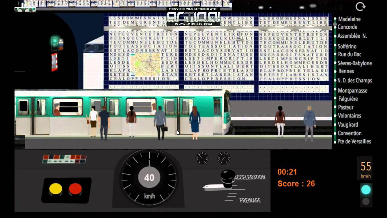 paris m tro simulator version 9 bande annonce youtube. Black Bedroom Furniture Sets. Home Design Ideas